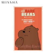 MISSHA Herb In Nude Sheet Mask 23g [We Bare Bears Edition]